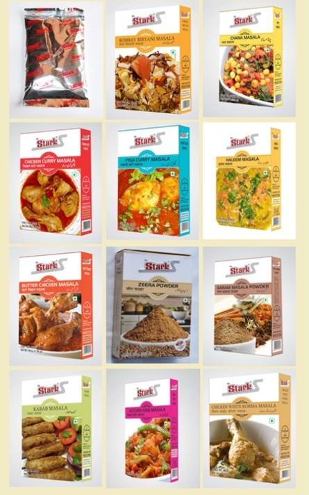 Przyprawy Curry z Indii